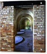 Fort Pickens Interior Acrylic Print