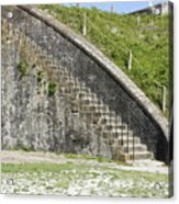 Fort Pickens Stairs Acrylic Print