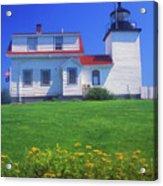 Fort Point Lighthouse Stockton Springs Acrylic Print