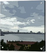 Fort River City Art Acrylic Print