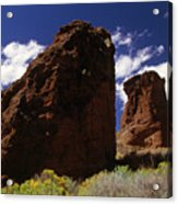 Fort Rock Twin Towers- H Acrylic Print