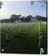 Fort Rosecrans National Cemetery Acrylic Print