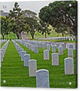Fort Rosencrans National Cemetery Acrylic Print