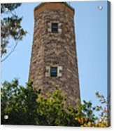 Fort Story Light House Acrylic Print