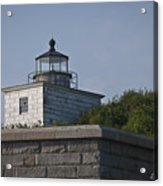 Fort Taber Lighthouse Acrylic Print