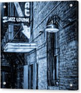 Fort Worth Impressions Scat Lounge Bw Acrylic Print