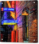 Fort Worth Impressions Scat Lounge Acrylic Print
