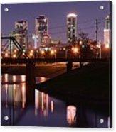Fort Worth Panorama Acrylic Print