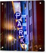 Fort Worth Park Sq Acrylic Print