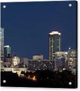 Fort Worth Skyline 051918 Acrylic Print