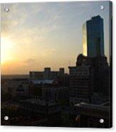 Fort Worth Sunset Acrylic Print