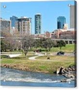 Fort Worth Trinity Park Acrylic Print