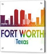 Fort Worth Tx Acrylic Print