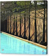Fort Worth Water Gardens - Quiet Pool Acrylic Print