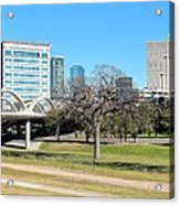 Fort Worth Wide Angle Acrylic Print