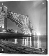 Forth Bridge Landscape Acrylic Print