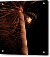 Fourth Of July Fireworks Twelve Acrylic Print
