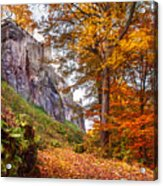 Fortification Koenigstein In Autumn Time Acrylic Print