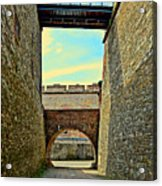 Fortress Ehrenbreitstein. Koblenz. Germany.  Acrylic Print