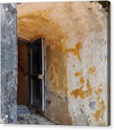 Fortress Window Acrylic Print