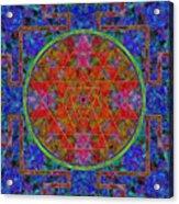 Fortune Mandala Acrylic Print