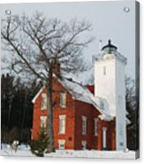Forty Mile Point Lighthouse Acrylic Print