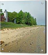 Forty Mile Point Lighthouse Springtime Acrylic Print