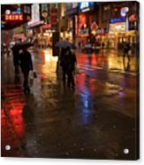Forty Second St. Acrylic Print