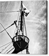 Forward Crow's Nest Acrylic Print