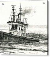 Foss Tugboat Sea Duke Acrylic Print