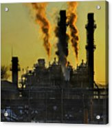 Fossil Fuels Acrylic Print