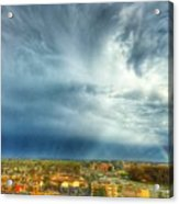 Founds Clouds Acrylic Print
