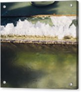 Fountain Closeup Acrylic Print