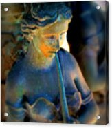 Fountain Girl Acrylic Print