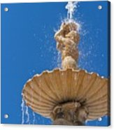 Fountain Acrylic Print