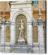 Fountain In The Vatican City  Acrylic Print
