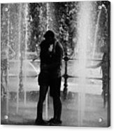 Fountain Love Acrylic Print