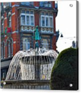 Fountain Of Brussels Acrylic Print