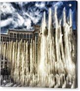 Fountain Of Love Acrylic Print
