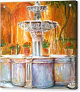 Fountain Of Truth Acrylic Print