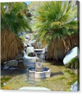 Fountain Of Youth Acrylic Print
