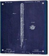 Fountain Pen Patent Drawing 1e Acrylic Print