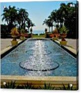 Fountain Pool Acrylic Print