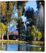 Fountains 2 Acrylic Print