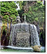 Fountains.  Tivoli. Acrylic Print
