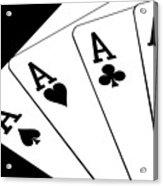 Four Aces I Acrylic Print