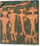 Four Anasazi Acrylic Print