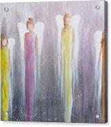 Four Angels Acrylic Print
