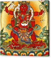 Four Armed Dzambhala Acrylic Print