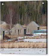 Four Barns Acrylic Print